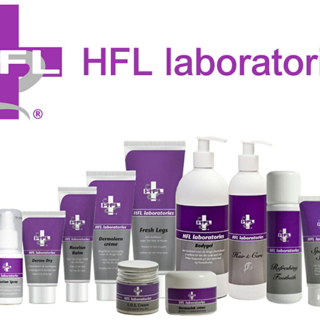 Medycos.com - Officieel verkooppunt van HFL Laboratories Solutionspray Fresh gel Dermoleen Dermo Dry Roselan Balm Dermazink Medisch en cosmetisch pedicure Hellevoetsluis